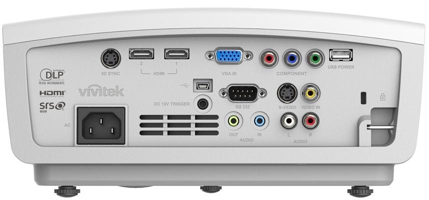 Vivitek H1186 IO端口