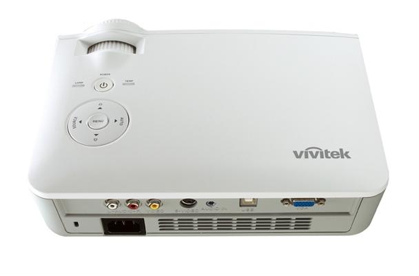 Vivitek D519 Back Low